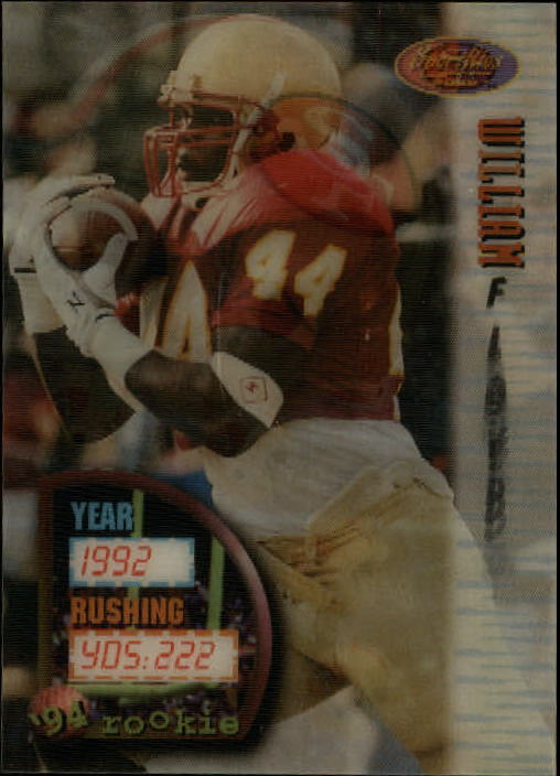 1994 Sportflics #148 William Floyd RC