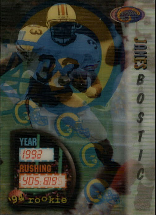 1994 Sportflics #151 James Bostic RC