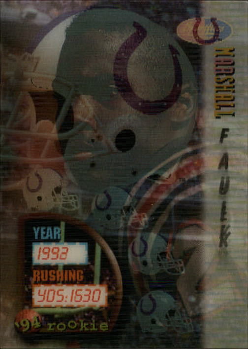 1994 Sportflics #152 Marshall Faulk RC