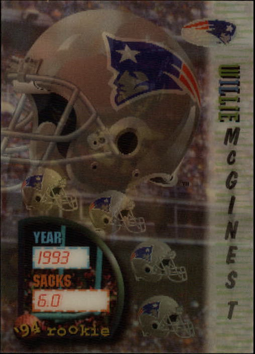1994 Sportflics #160 Willie McGinest RC