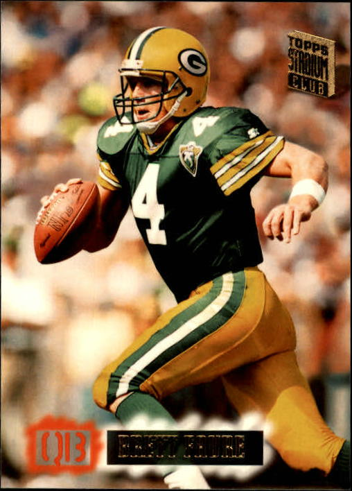 1994 Stadium Club #536 Brett Favre