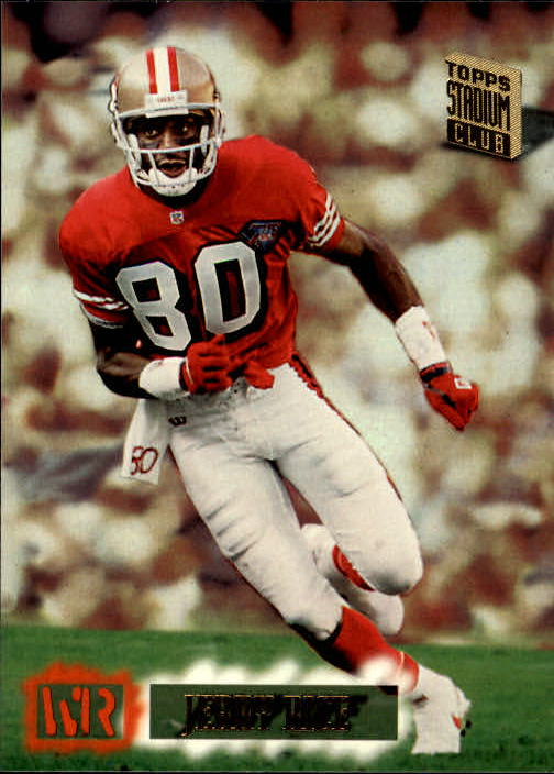 1994 Stadium Club #550 Jerry Rice