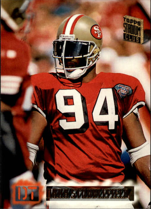 1994 Stadium Club #574 Dana Stubblefield