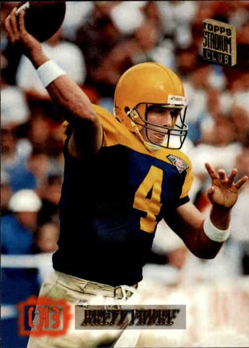 1994 Stadium Club #604 Brett Favre