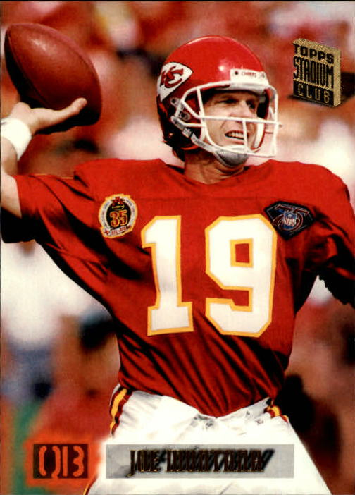 1994 Stadium Club #615 Joe Montana