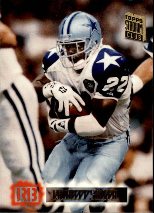 1994 Stadium Club #630 Emmitt Smith
