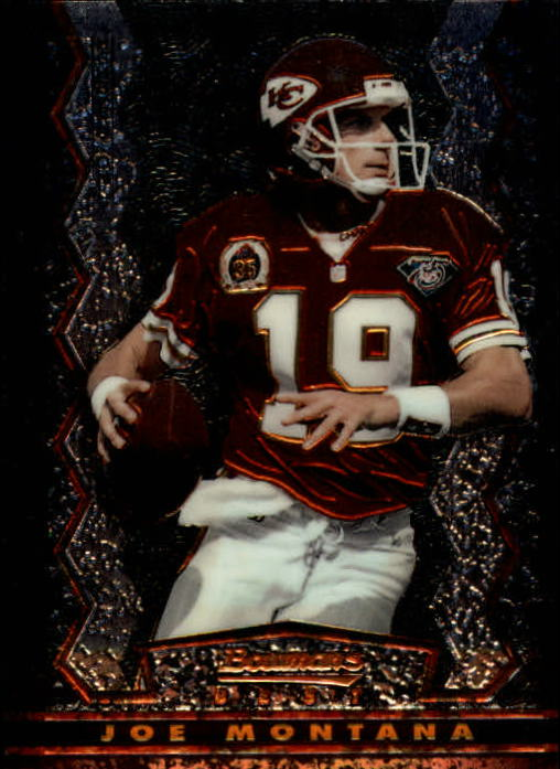 1994 Stadium Club Bowman's Best #BK17 Joe Montana