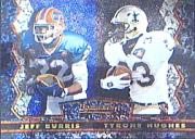 1994 Stadium Club Bowman's Best #25 Jeff Burris/T.Hughes