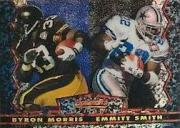 1994 Stadium Club Bowman's Best #28 Emmitt Smith/Bam Morris