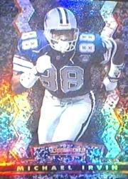 1994 Stadium Club Bowman's Best Refractors #BK7 Michael Irvin