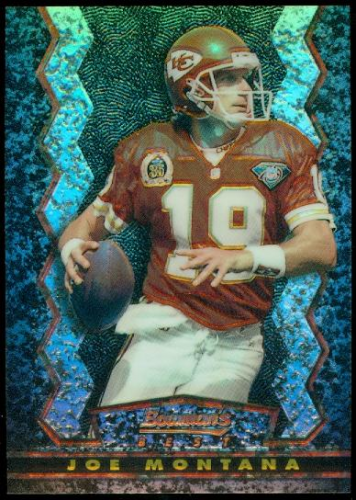 1994 Stadium Club Bowman's Best Refractors #BK17 Joe Montana