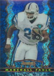 1994 Stadium Club Bowman's Best Refractors #BU1 Marshall Faulk