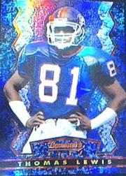 1994 Stadium Club Bowman's Best Refractors #BU7 Thomas Lewis