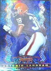 1994 Stadium Club Bowman's Best Refractors #BU11 Antonio Langham