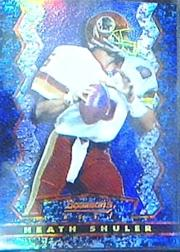 1994 Stadium Club Bowman's Best Refractors #BU13 Heath Shuler