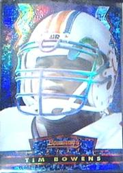 1994 Stadium Club Bowman's Best Refractors #BU17 Tim Bowens
