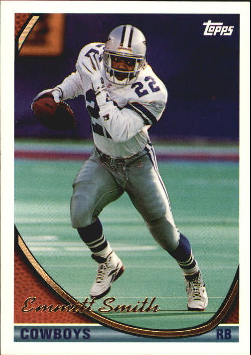 1994 Topps #1 Emmitt Smith