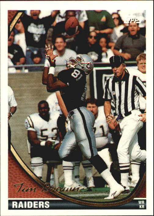1994 Topps #240 Tim Brown