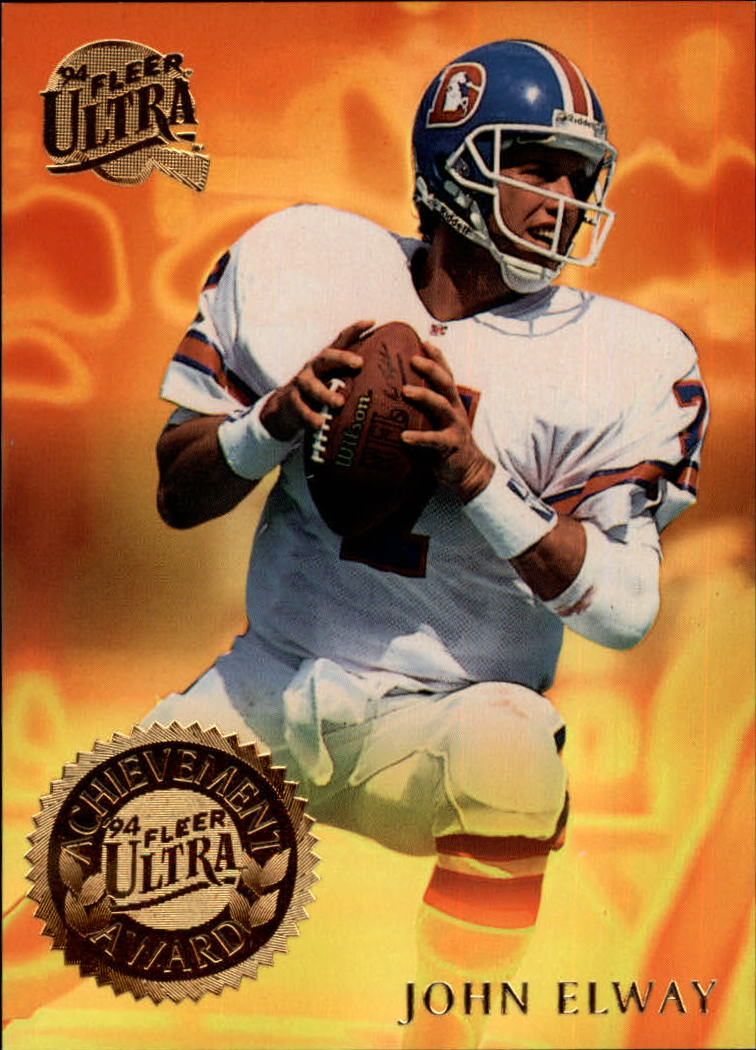 1994 Ultra Achievement Awards #2 John Elway