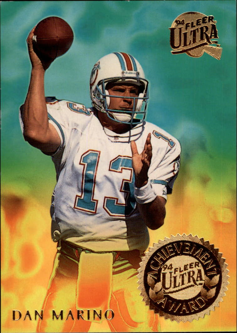 1994 Ultra Achievement Awards #3 Dan Marino