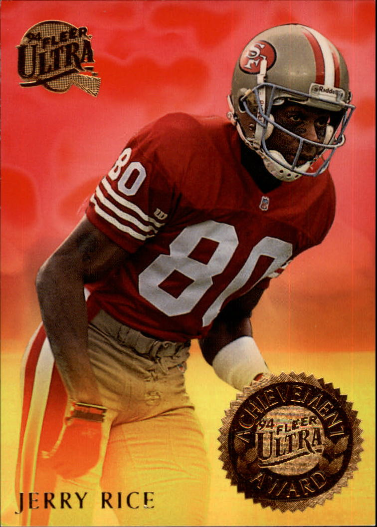 1994 Ultra Achievement Awards #5 Jerry Rice