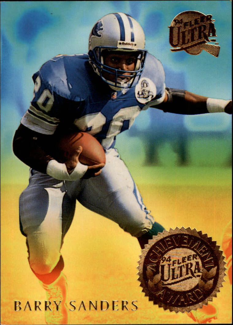 1994 Ultra Achievement Awards #6 Barry Sanders