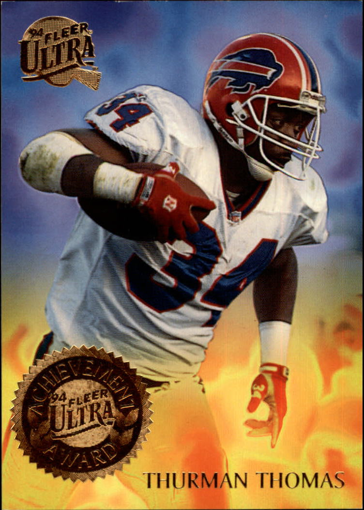 1994 Ultra Achievement Awards #9 Thurman Thomas