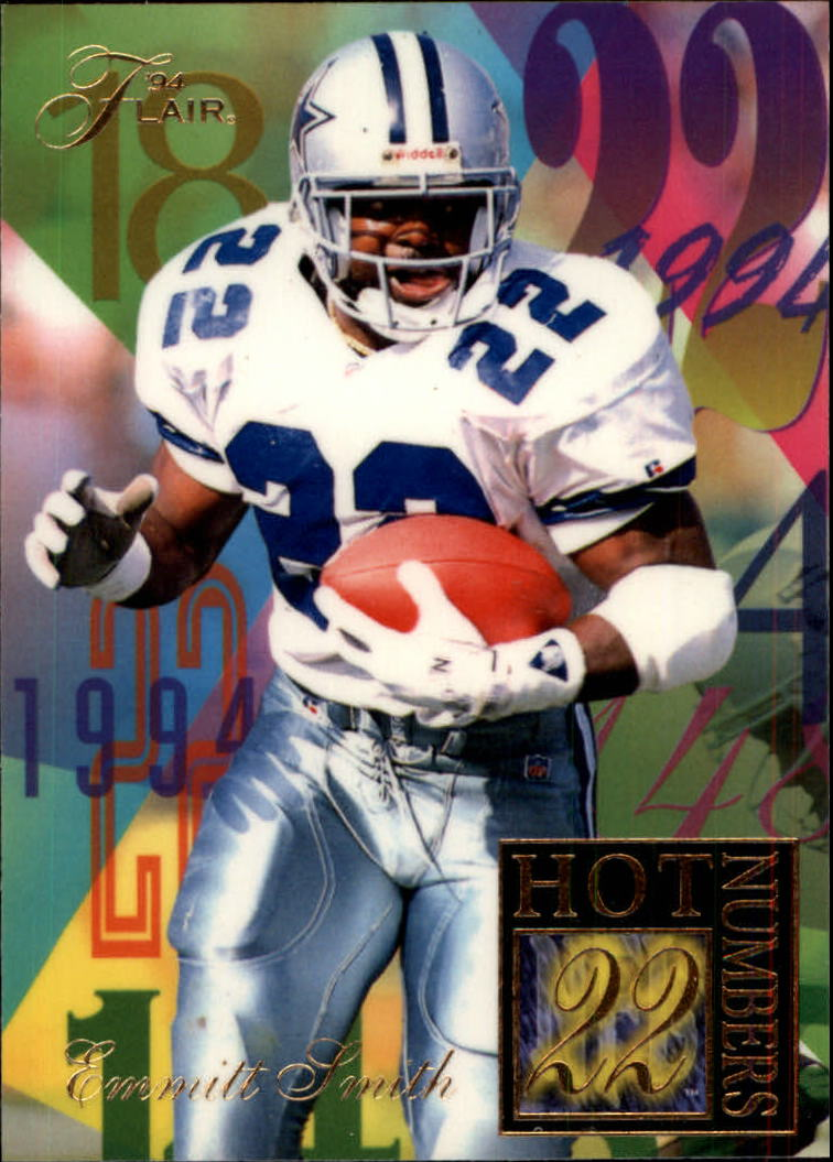 1994 Ultra Flair Hot Numbers #13 Emmitt Smith
