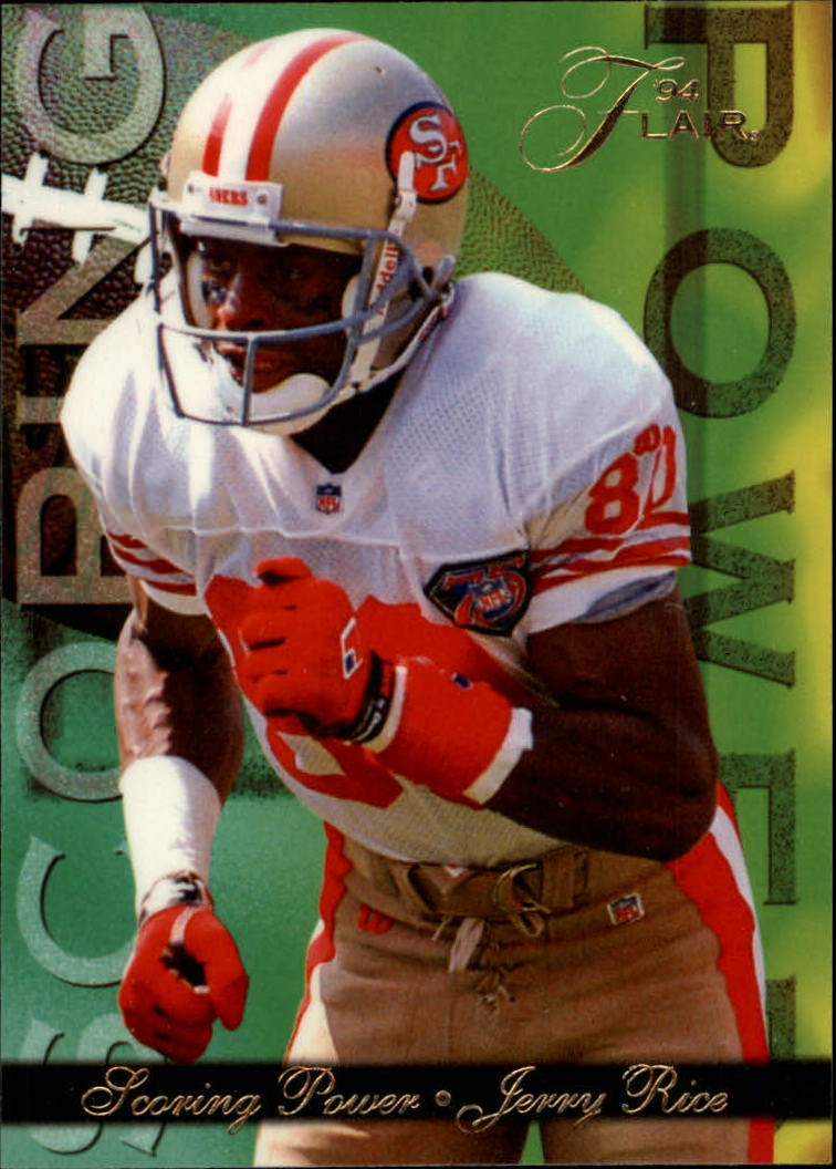 1994 Ultra Flair Scoring Power #3 Jerry Rice