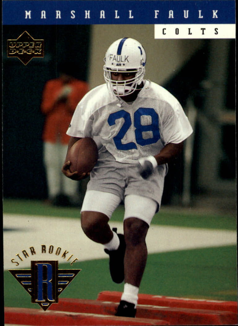 1994 Upper Deck #7 Marshall Faulk RC