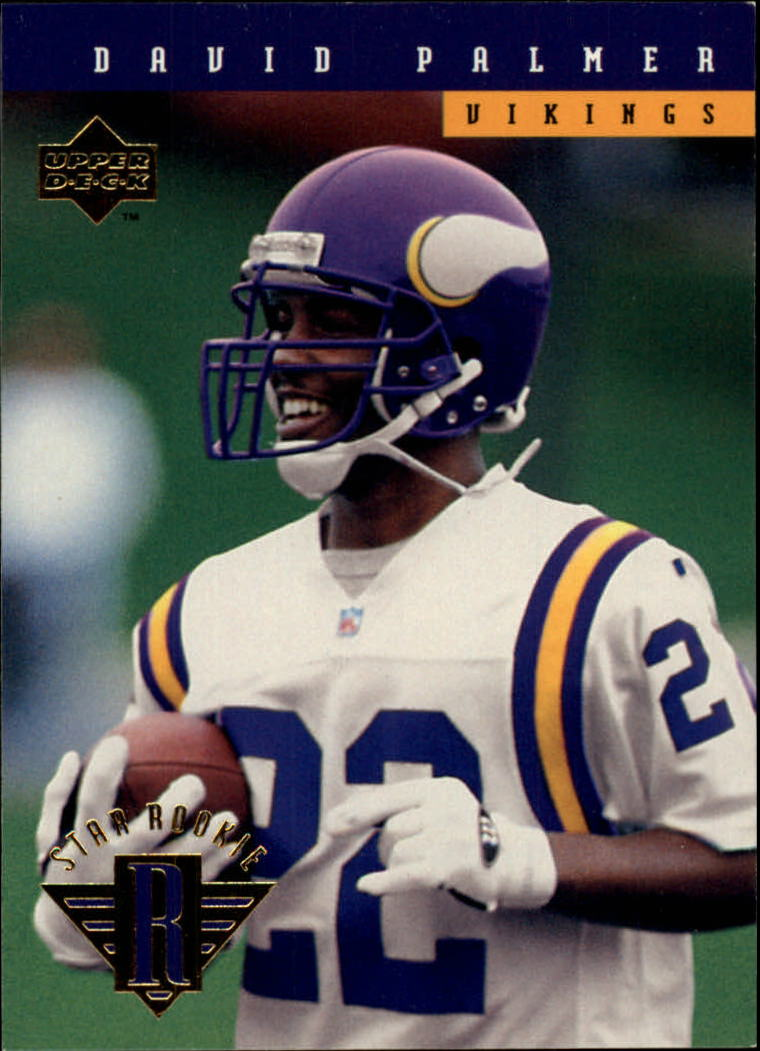 1994 Upper Deck #16 David Palmer RC