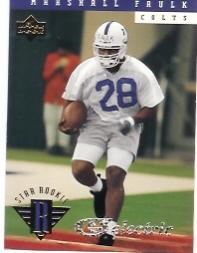 1994 Upper Deck Electric Silver #7 Marshall Faulk