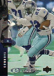 1994 Upper Deck Electric Silver #157A Emmitt Smith ERR 1900