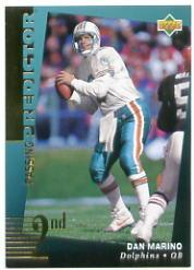 1994 Upper Deck Predictor League Leaders Prizes #R7 Dan Marino