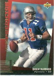 1994 Upper Deck Predictor League Leaders Prizes #R9 Drew Bledsoe