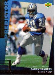1994 Upper Deck Predictor League Leaders Prizes #R12 Barry Sanders