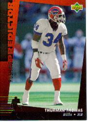 1994 Upper Deck Predictor League Leaders Prizes #R15 Thurman Thomas