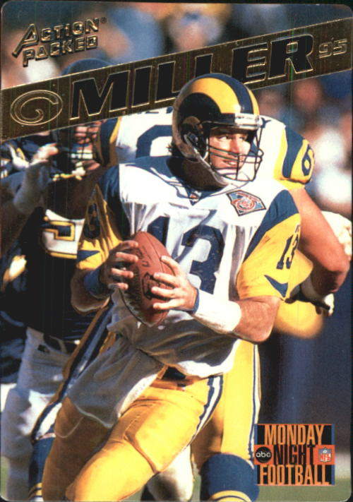1995 Action Packed Monday Night Football #48 Chris Miller