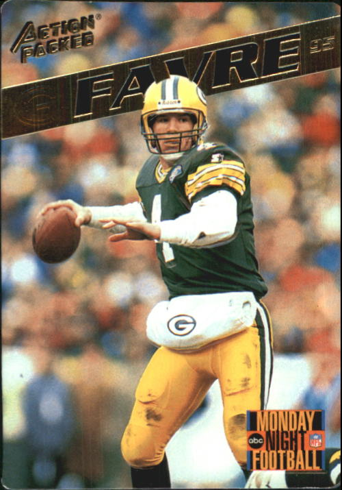 1995 Action Packed Monday Night Football #60 Brett Favre