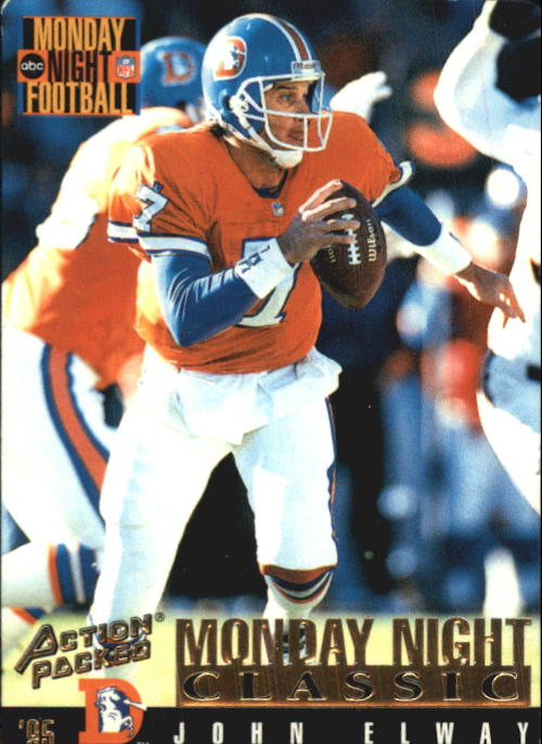 1995 Action Packed Monday Night Football #108 John Elway C