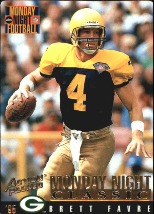 1995 Action Packed Monday Night Football #109 Brett Favre C