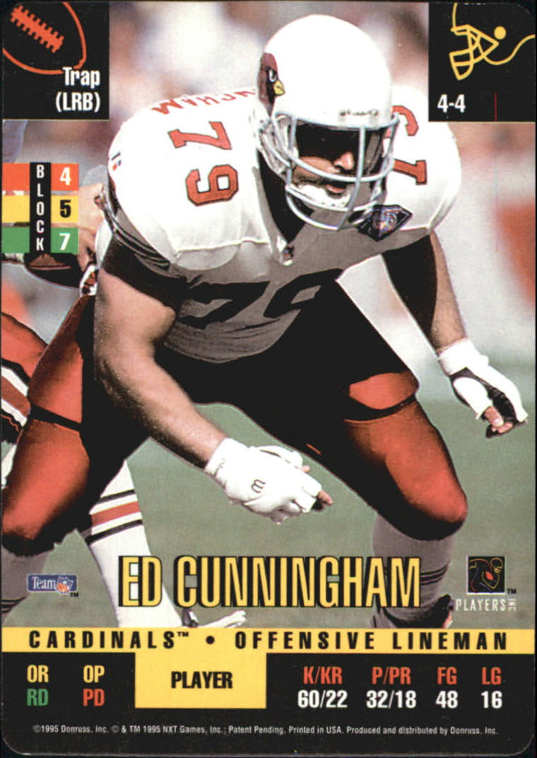 1995 Donruss Red Zone #4 Ed Cunningham DP