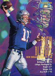 1995 FACT Fleer Shell #21 Drew Bledsoe