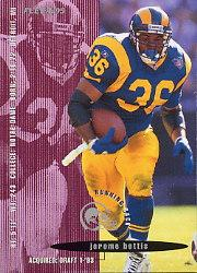 1995 FACT Fleer Shell #27 Jerome Bettis