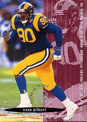 1995 FACT Fleer Shell #59 Sean Gilbert