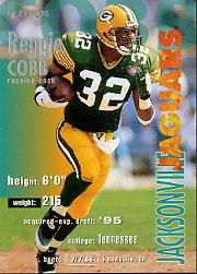 1995 FACT Fleer Shell #79 Reggie Cobb