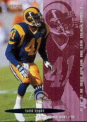 1995 FACT Fleer Shell #90 Todd Lyght