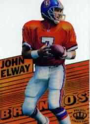 1995 Pacific Triple Folders Crystalline #CR5 John Elway
