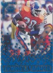 1995 Pacific Triple Folders Rookies and Stars Blue #12 Terrell Davis