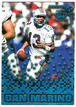 1995 Pacific Triple Folders Rookies and Stars Blue #20 Dan Marino